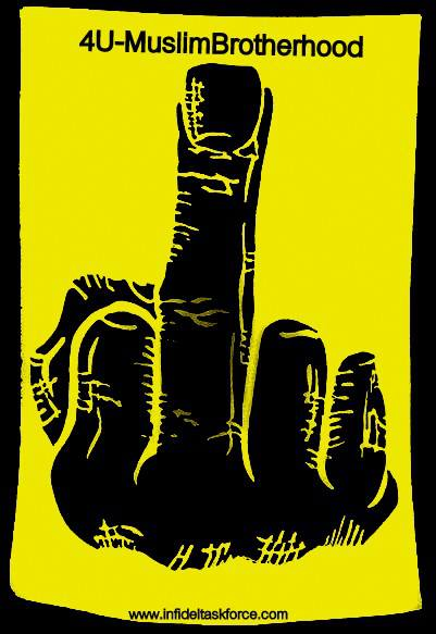 Four-finger salute: Egypt rivals use 'Rabaa hand' to turn Facebook yellow