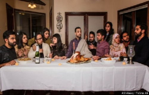 Muslims Mocking the 'Last Supper' of Christ