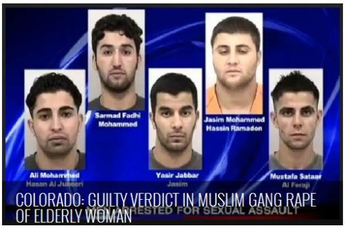 Guilty verdict in Muslim gang rape of elderly woman