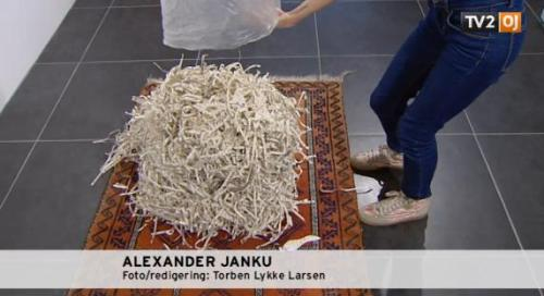 Perpetually outraged Muslims really outraged at Danish-Iranian artist who put a quran through a paper shredder